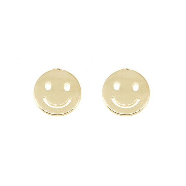 Charm Earrings - Smiley
