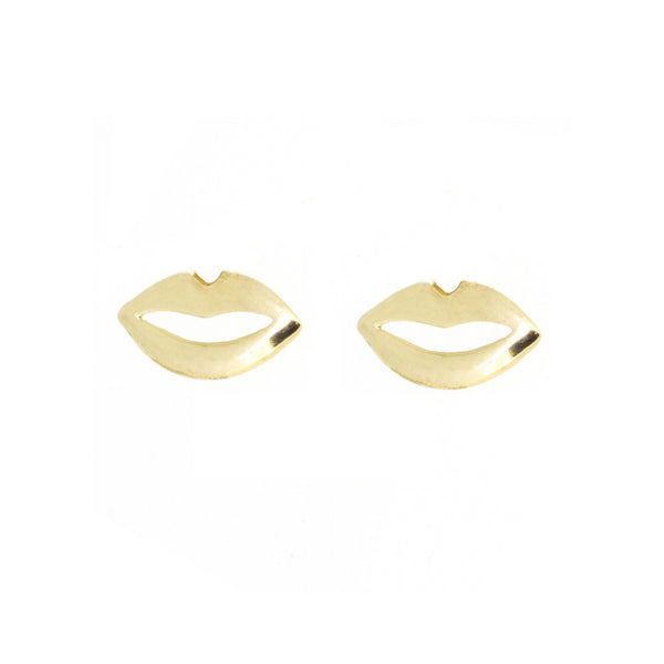 Charm Earrings - Lips