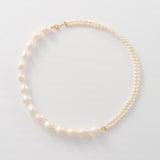 Baroque Keshi Pearl Strand Necklace