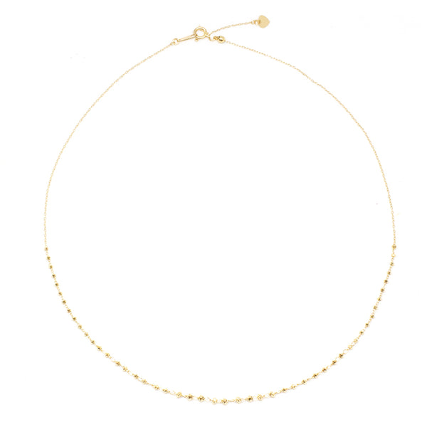 18K Shimmer Adjustable Necklace