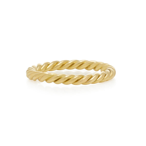 2mm Twisted Skinny Ring