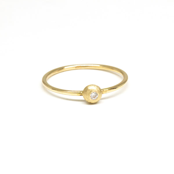 Petite Diamond Dome Ring