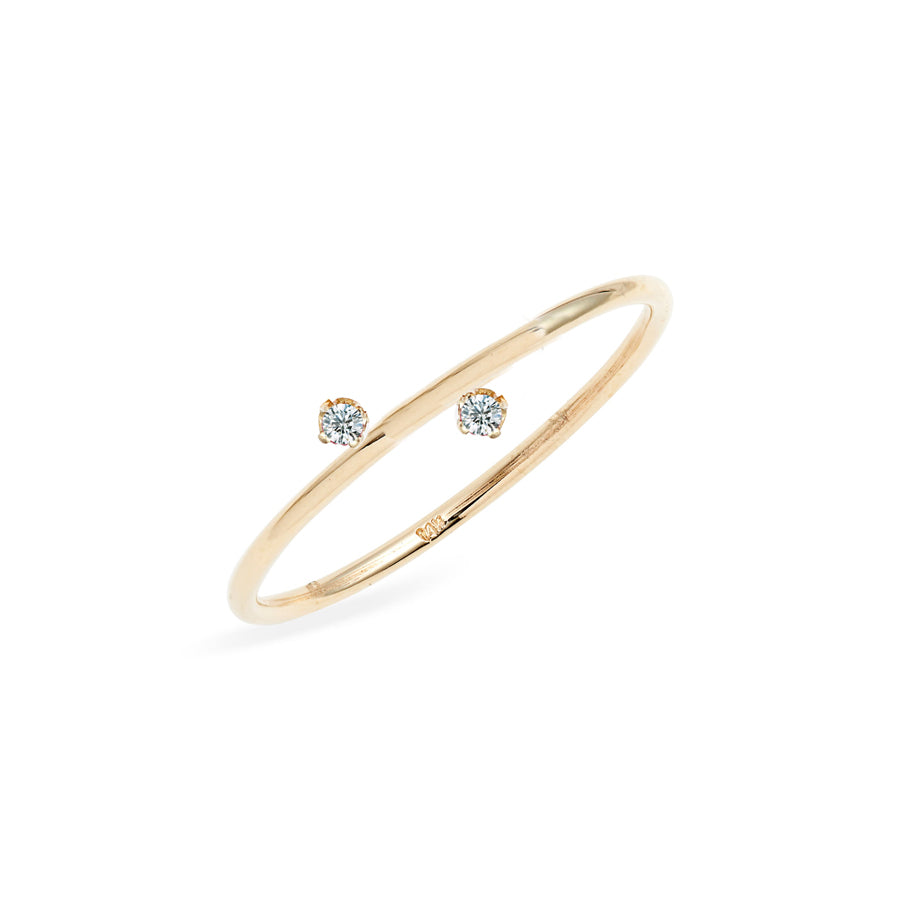 Duo Diamond Ring