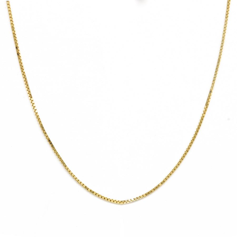 Gold Thread Necklace