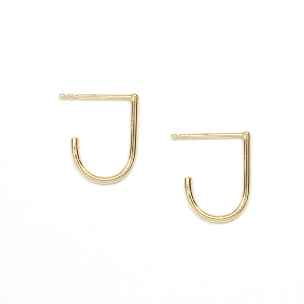 J Huggie Earrings