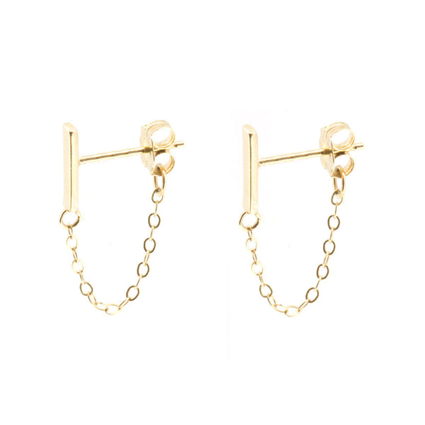 Line Studs with Chain