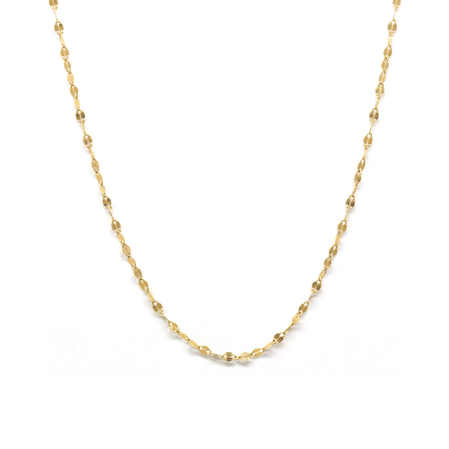 Petite Oval Shimmer Necklace