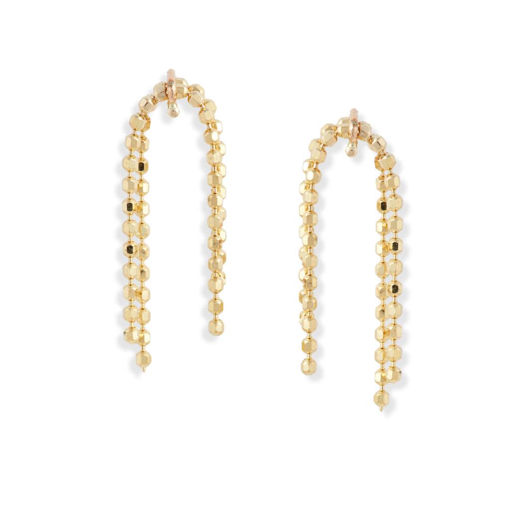 Petite Shimmer Beaded Earrings