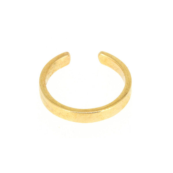 Gold Ear Cuff 2mm