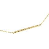 18K Shimmer Line Necklace