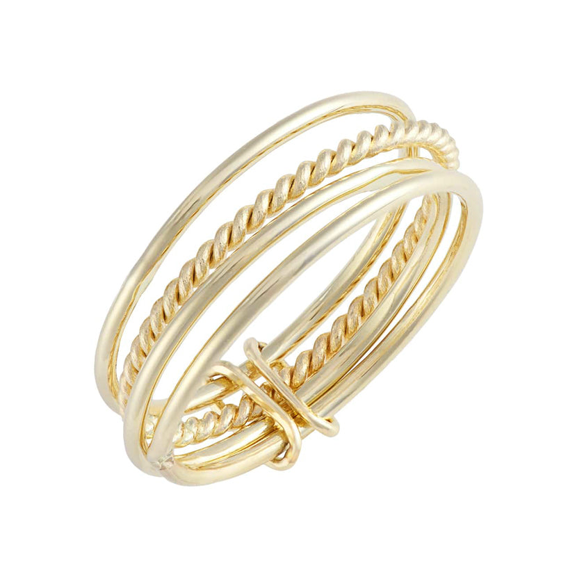 Four Stacking Ring Set