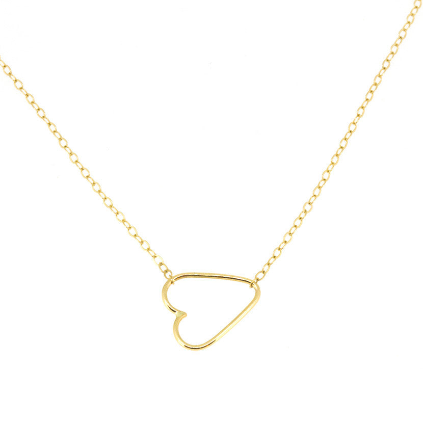 Delicate Heart Necklace