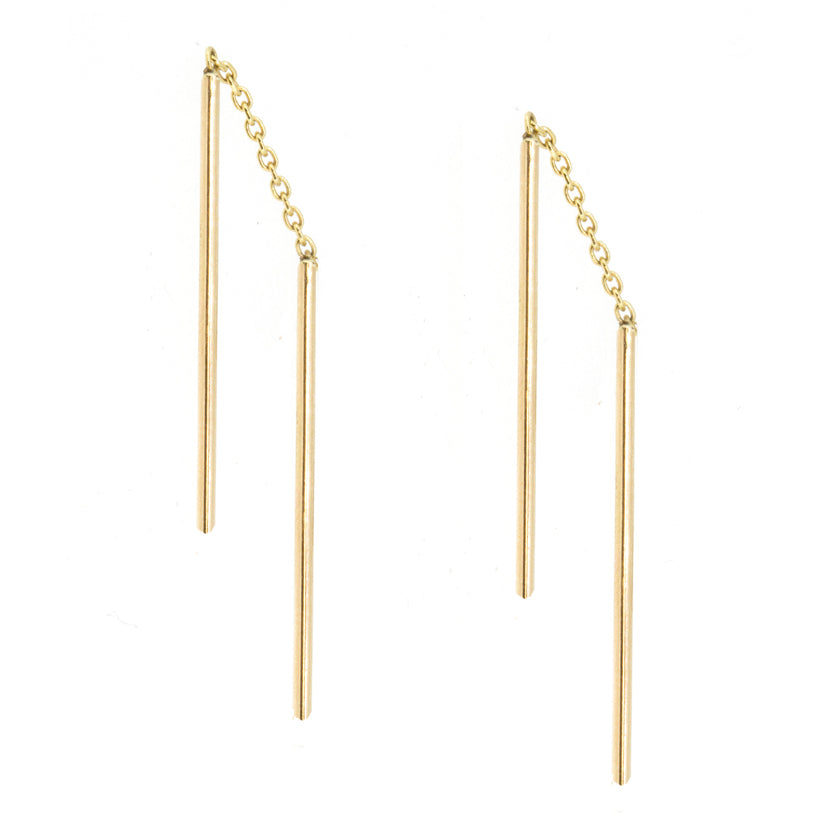 Double Threader Earrings