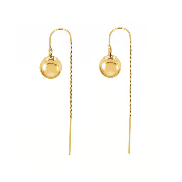 Baller Threader Earrings