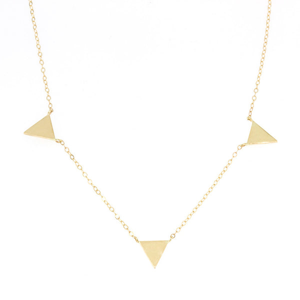 Golden Trio Necklace