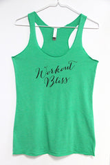 Workout Bliss next level tank-SALE