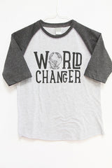 World Changer Baseball T
