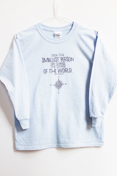 Smallest Person kids long sleeve T