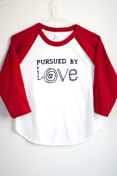 Pursued by Love baby/toddler Basebell T