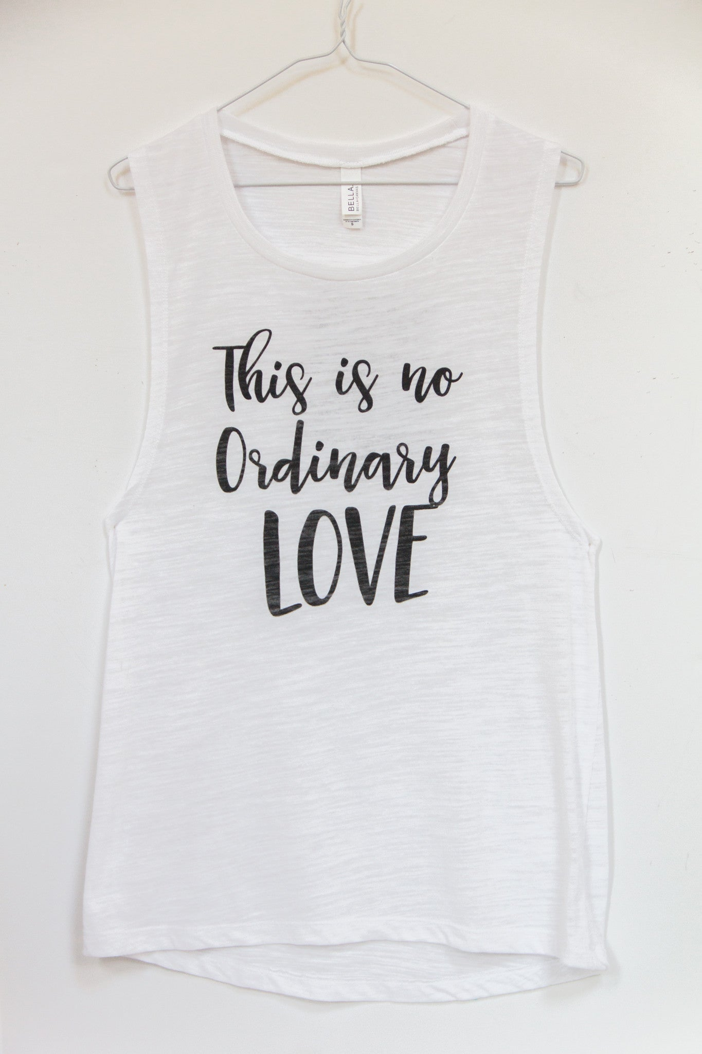 This is No Ordinary Love Tank