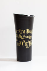Seeking Beauty Travel Coffee Mug - FLASH SALE