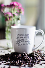 Exquisite Moment Ceramic Coffee Mug - SOLD OUT