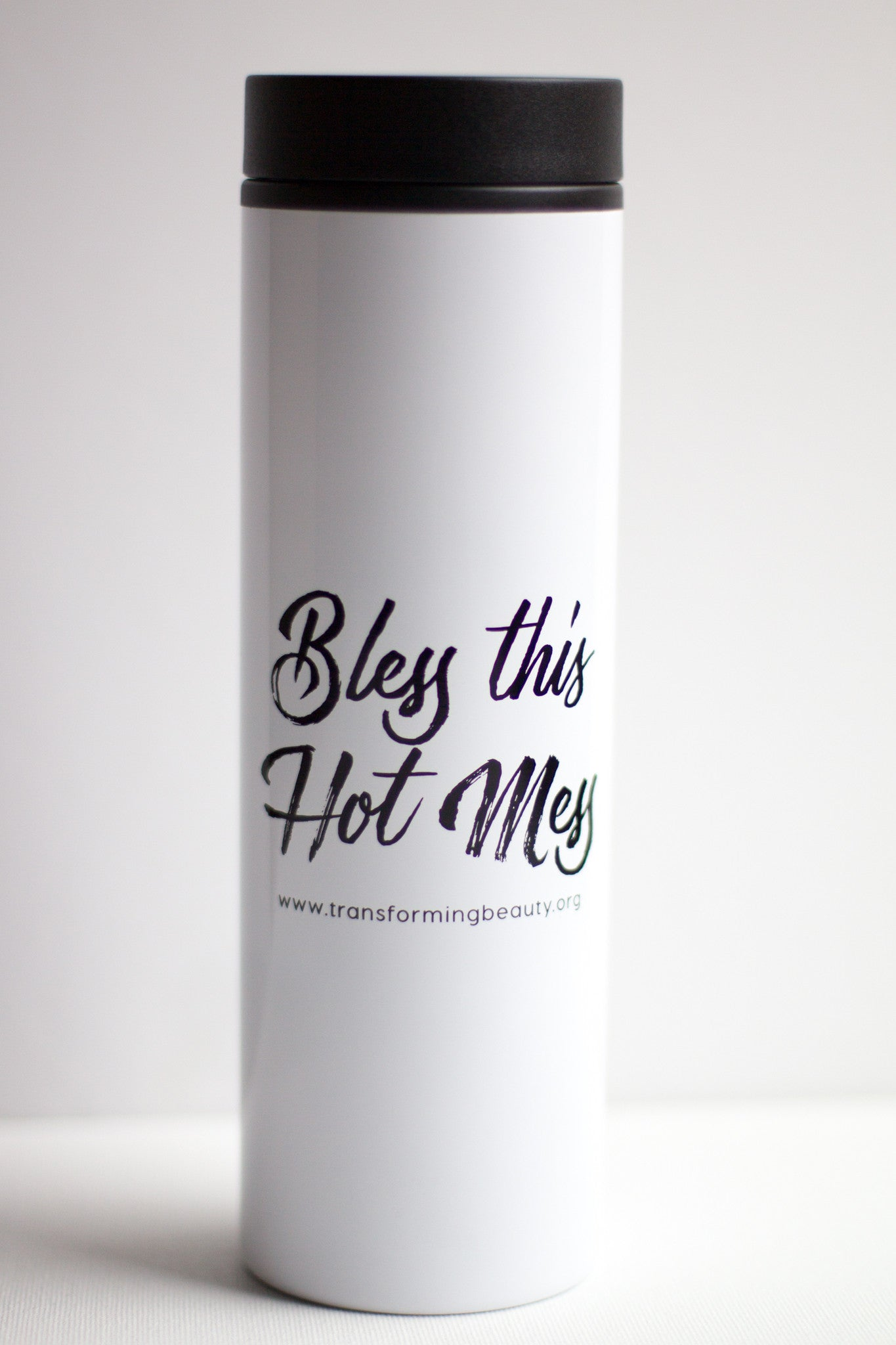 Bless This Hot Mess Travel Coffee Mug - As seen in Huffington Post