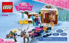 lego disney ANNA & KRISTOFF'S SLEIGH ADVENTURE - 41066 - Wild Willy