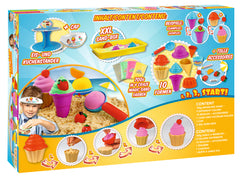 CRAZE MAGIC SAND ICE CREAM & BAKERY SET 700GR - Wild Willy