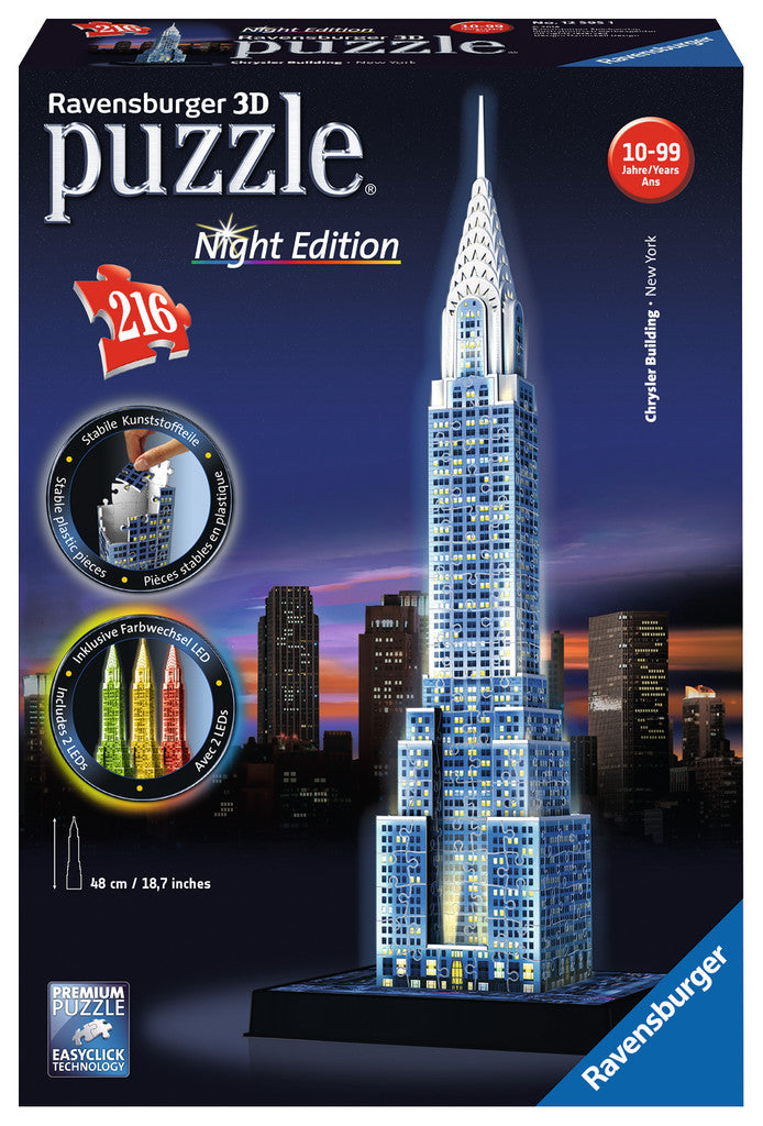 Chrysler Building 3D Puzzle - Wild Willy