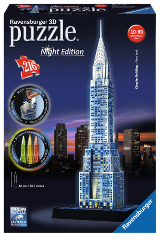 Chrysler Building 3D Puzzle - Wild Willy - Toys Lebanon