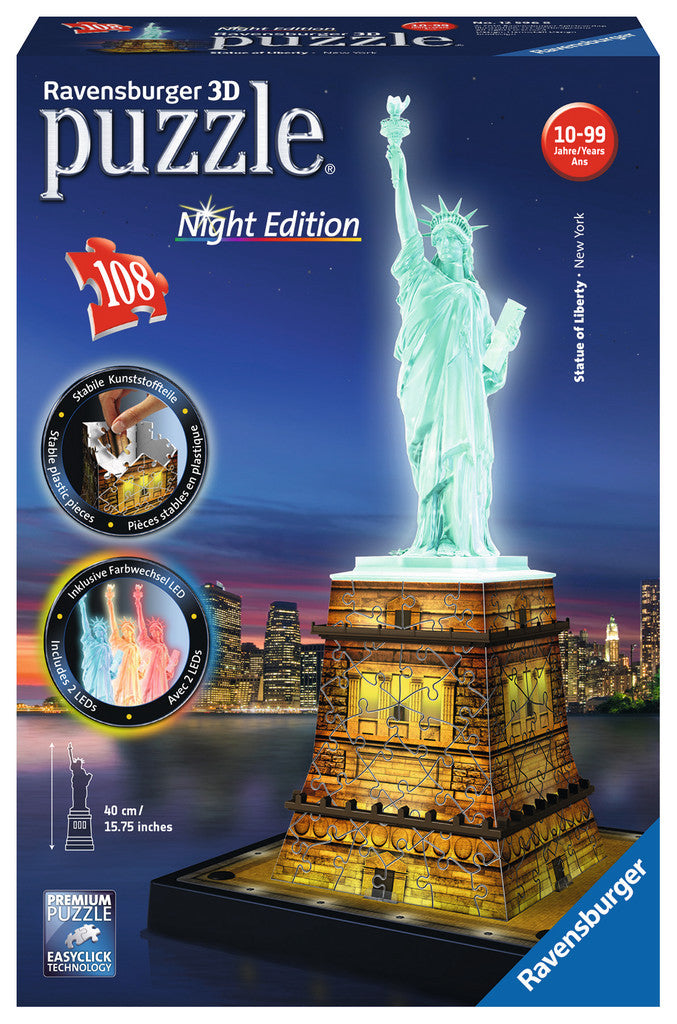 statue of liberty puzzly 3d - Wild Willy