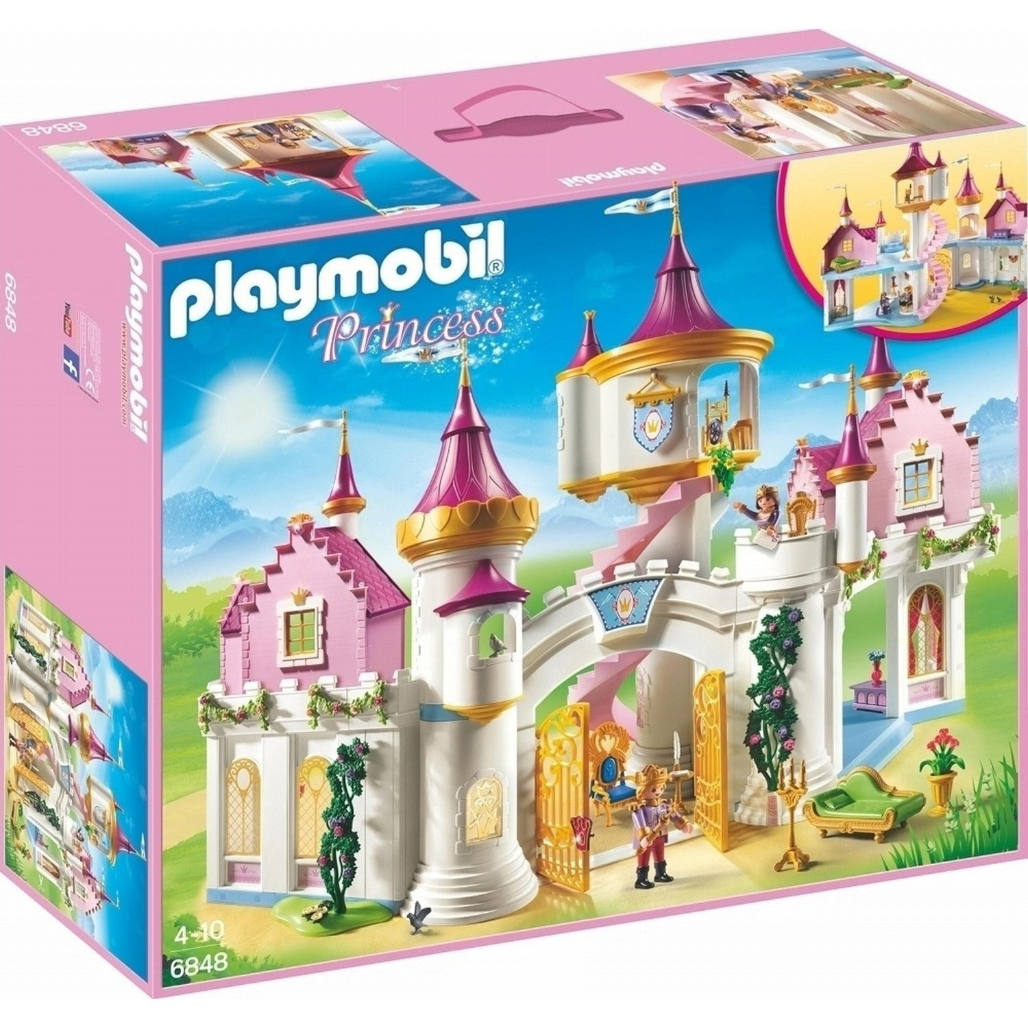 PLAYMOBIL PRINCESS 6848 - Wild Willy