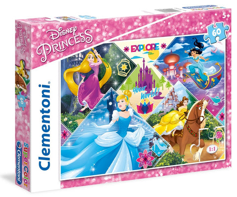 CL DISNEY PRINCESS 60PCS 5+ - Wild Willy - Toys Lebanon