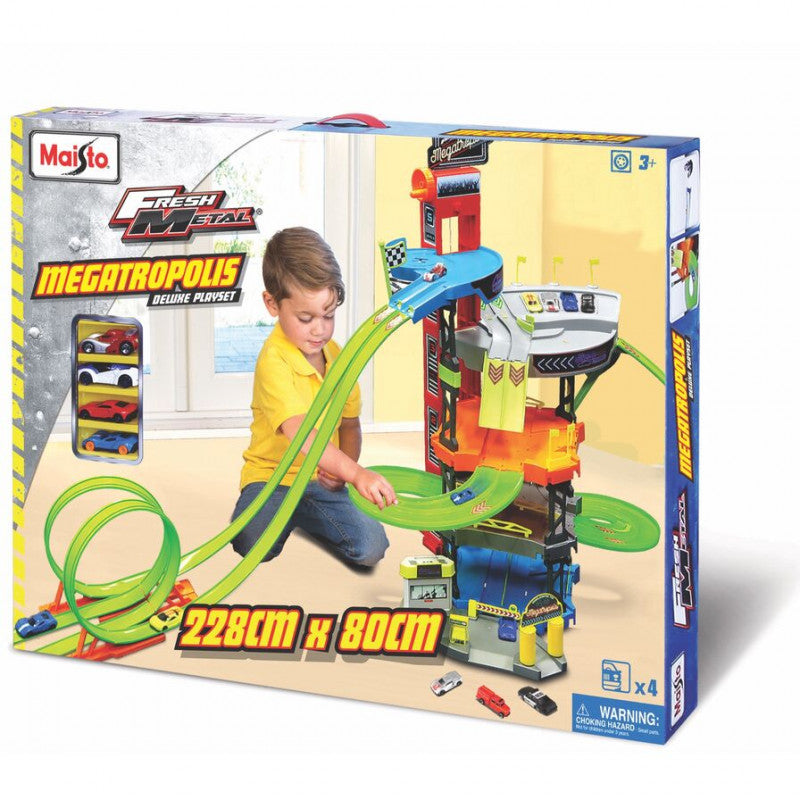 "MS FM MEGA PLAYSET 5 LEVELS 3"" - Wild Willy - Toys Lebanon"