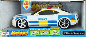 MS 1:24 MOTOSOUNDS CAMARO SS POLICE - Wild Willy - Toys Lebanon