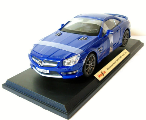 Maisto Mercedes SL63 AMG Hard Top - Wild Willy