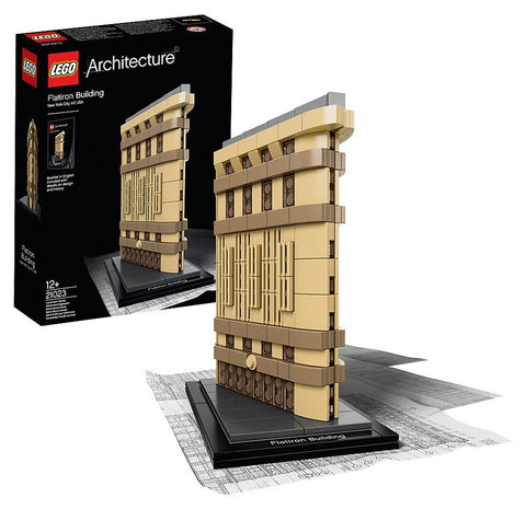 Lego Architecture Flatiron Building 21023 - Wild Willy