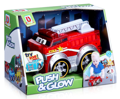 BBJUNIOR Push & Glow Fire Truck