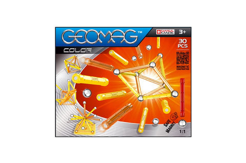 GEOMAG COLOR 30 PCS ( GM251 ) - Wild Willy - Toys Lebanon