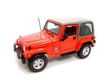 Bburago Jeep Wrangler Sahara 1/18 - Wild Willy