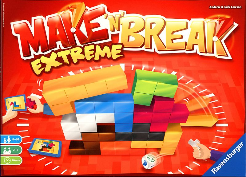 Ravensburger Make n Break Extreme - Wild Willy