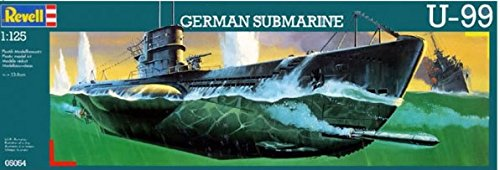 ReVell U-99 GERMAN SUBMARINE 1:125 - Wild Willy - Toys Lebanon