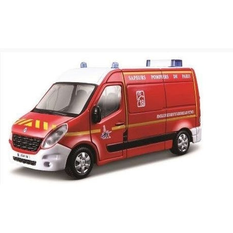 BU EMRGENCY FORCE RENAULT MASTER - Wild Willy - Toys Lebanon