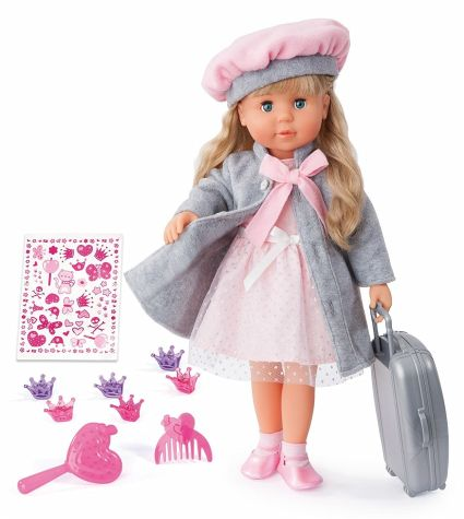 Bayer -  Charlene Interactive Talking Doll with Hair 100 Functions FRENCH VERSION