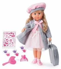 Bayer -  Charlene Interactive Talking Doll with Hair 100 Functions FRENCH VERSION - Wild Willy