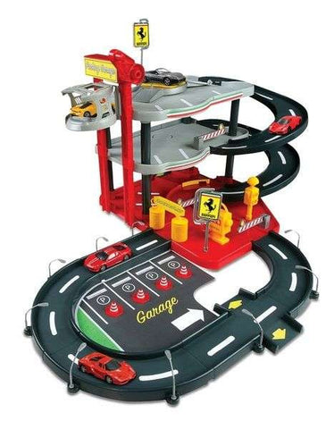 Bburago Ferrari Race & Play - Parking Garage - Wild Willy - Toys Lebanon