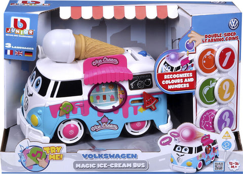 BBJunior VW Volkswagen Magic Ice Cream Bus