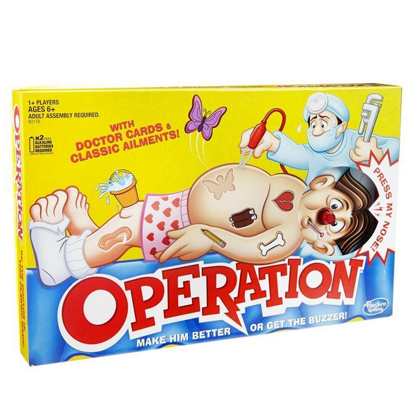 Hasbro Classic Operation - Wild Willy - Toys Lebanon