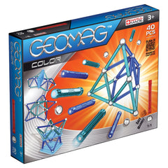GEOMAG COLOR 40PCS 3Y+ ( GM252 ) - Wild Willy - Toys Lebanon